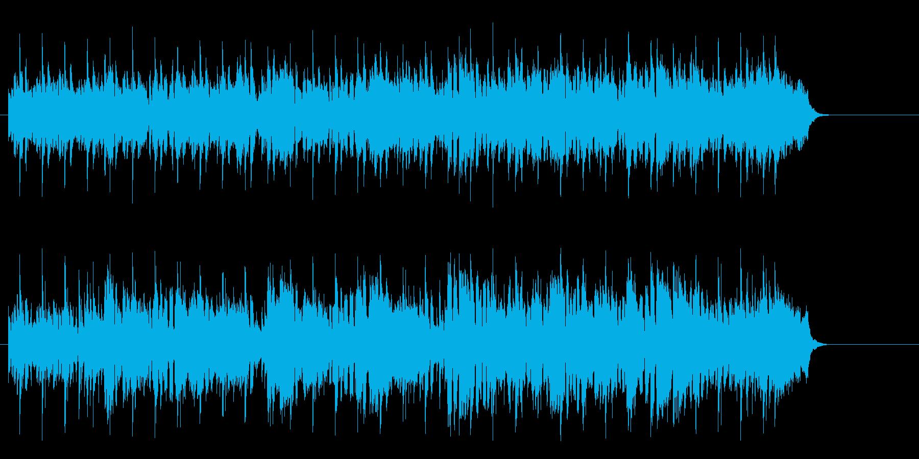 のんびりと時を過ごす様なレゲエ風ポップスの再生済みの波形