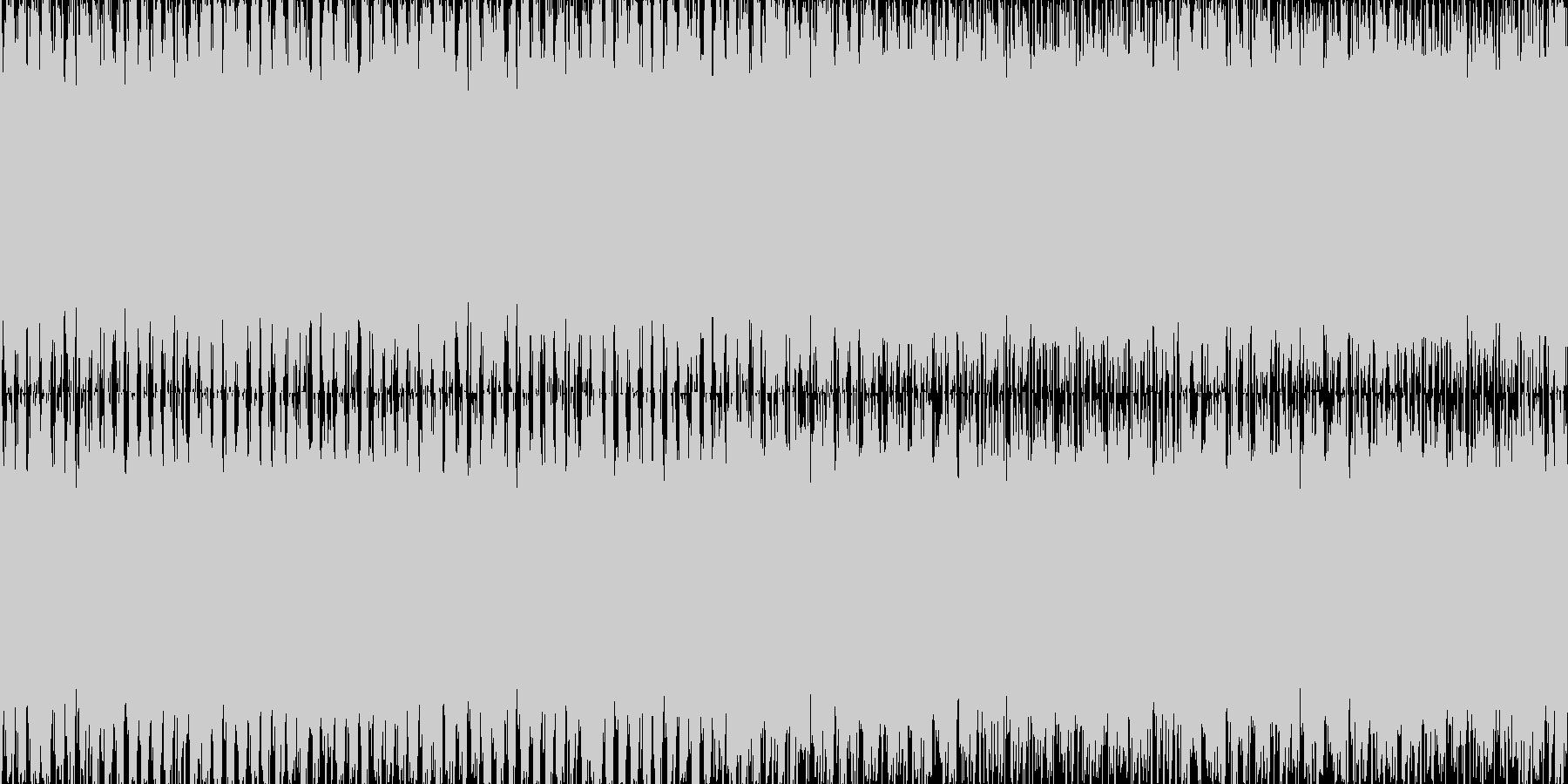 EDM_60秒ループ処理済み_ゲーム向けの未再生の波形