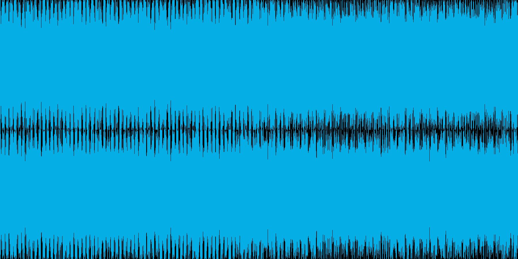 EDM_60秒ループ処理済み_ゲーム向けの再生済みの波形