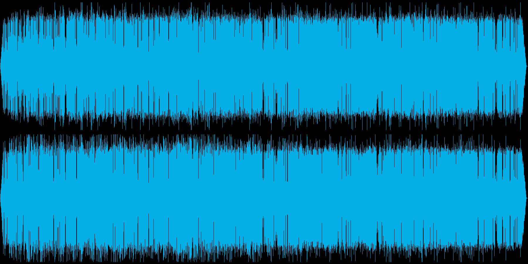 北海道音景色 夏夜の静寂・虫の声 その2の再生済みの波形
