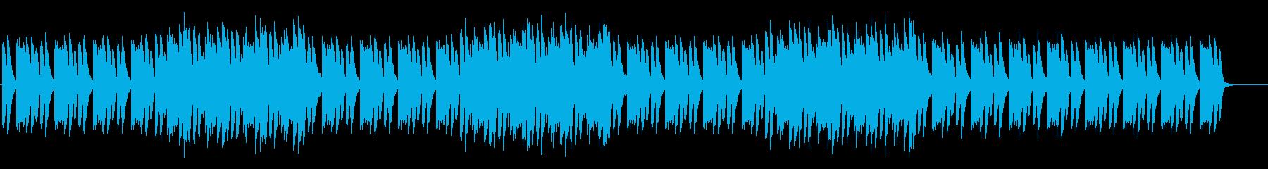 音数の少ないシンプルなミニマル系の再生済みの波形