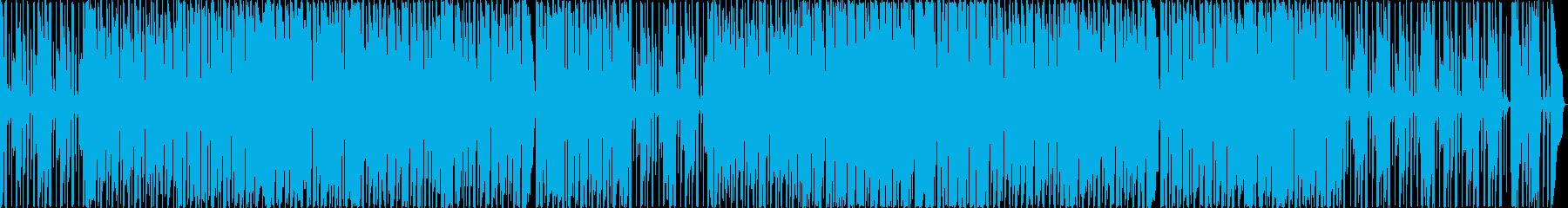 マリオのようなアクションゲームの再生済みの波形