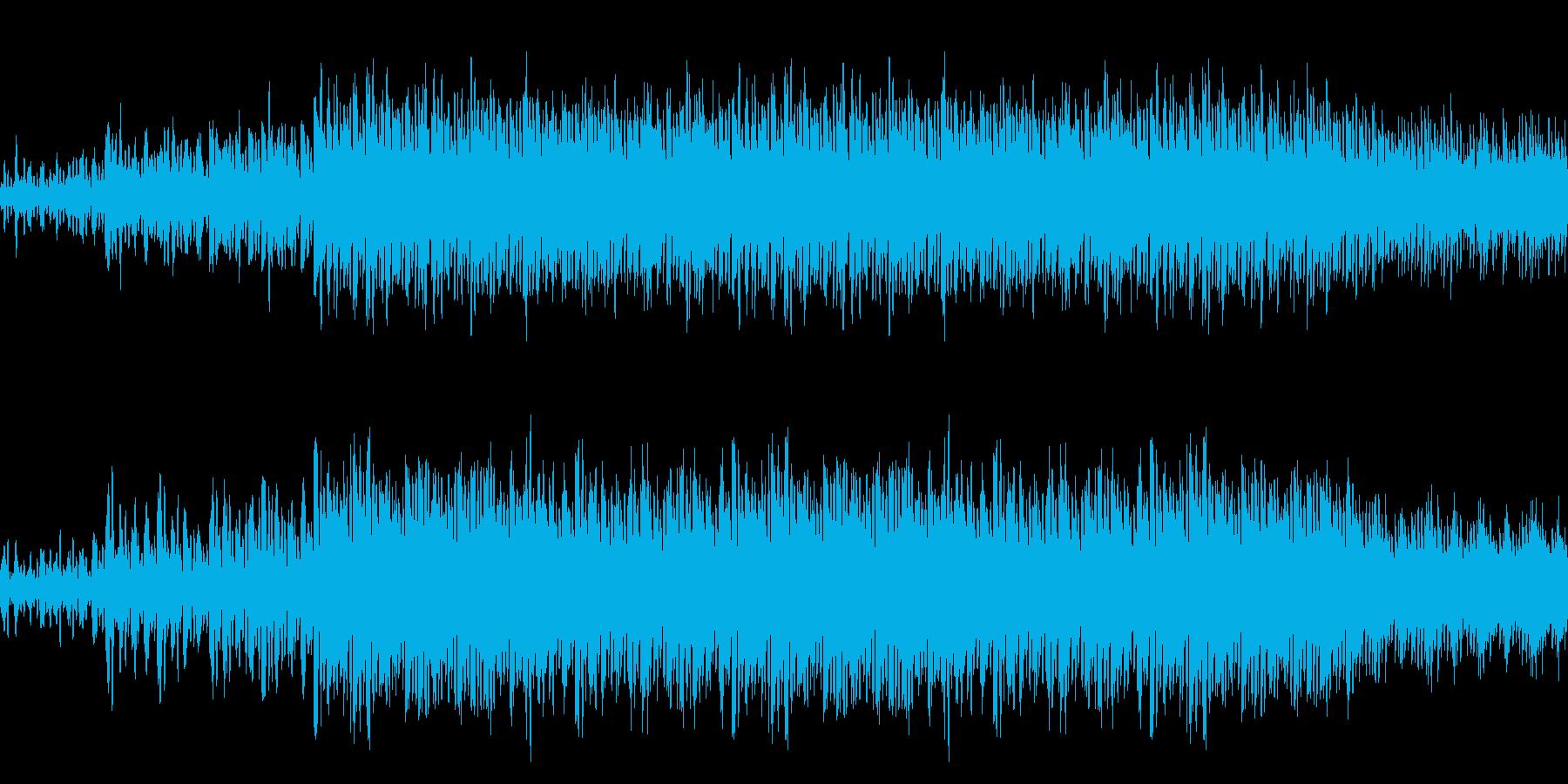 【ファンタジーアニメゲーム・森】の再生済みの波形