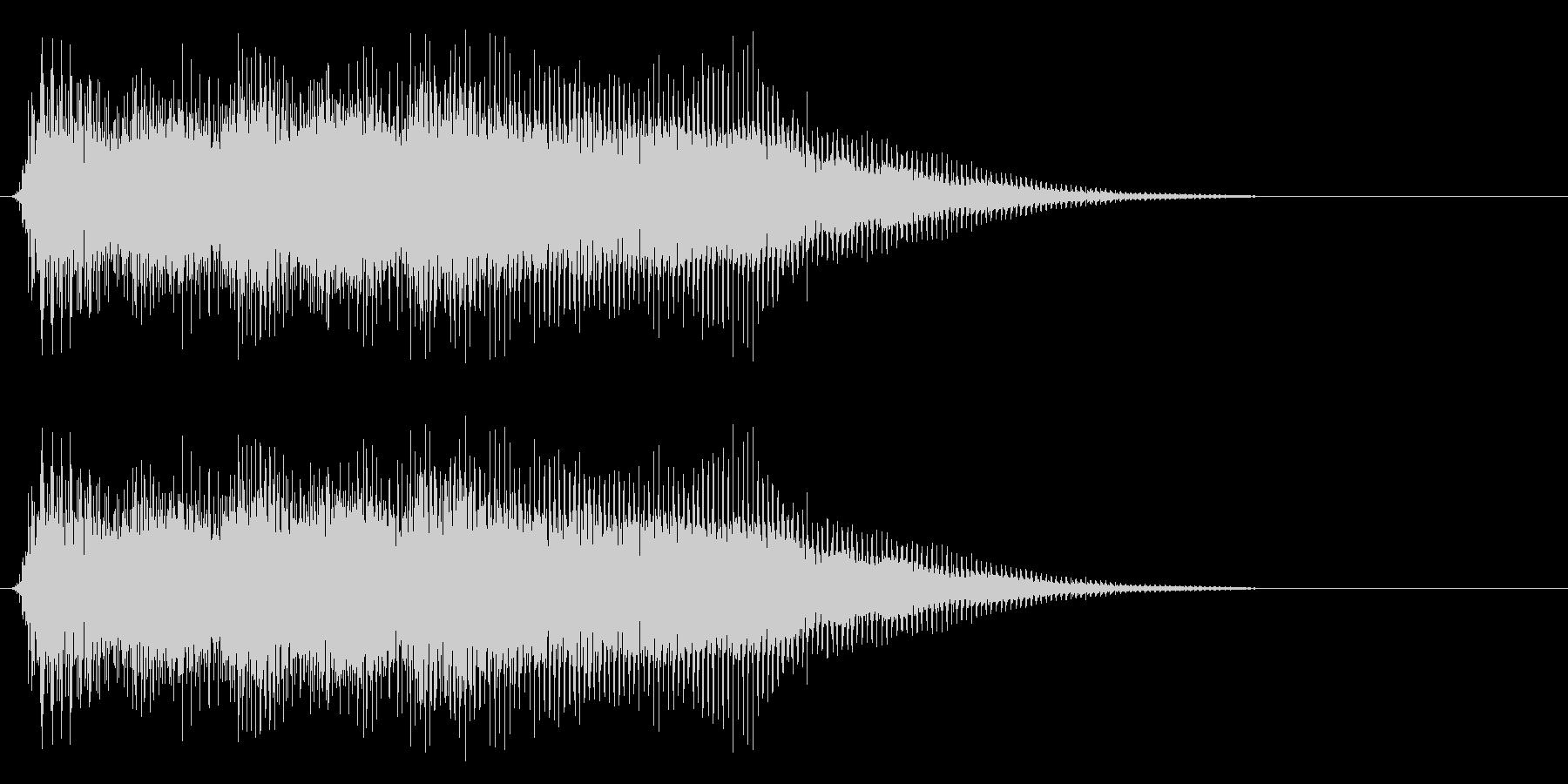 ファミコン風のレトロな音です の未再生の波形