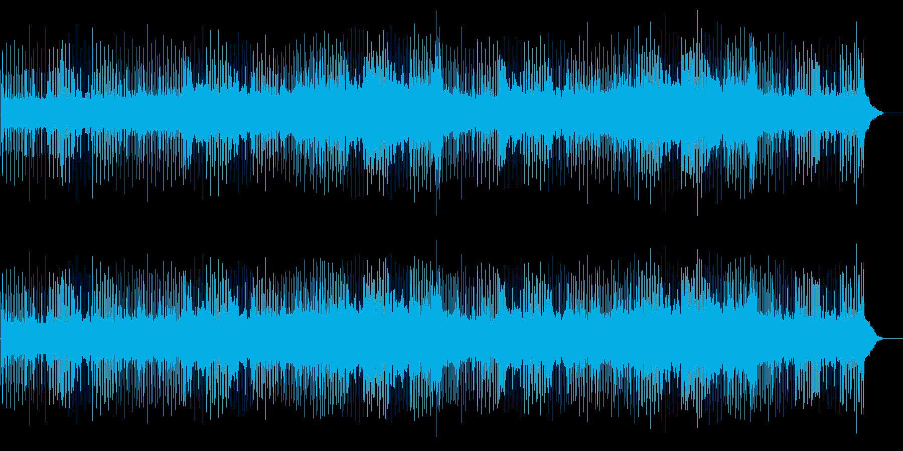 重量感のあるハートフルなポップの再生済みの波形