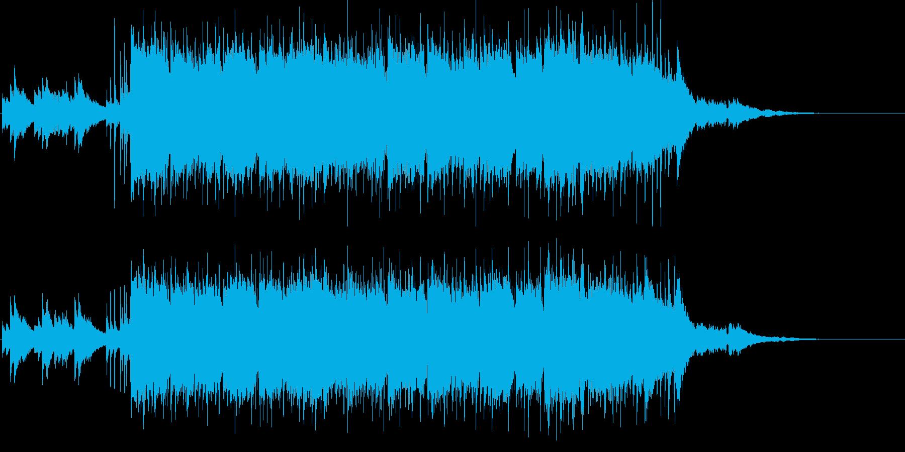 心に訴えるマイナー調のギターアンサンブルの再生済みの波形