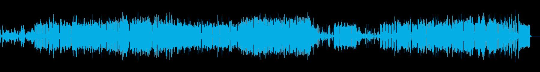 ギャンブラーに合いそうなBGMの再生済みの波形