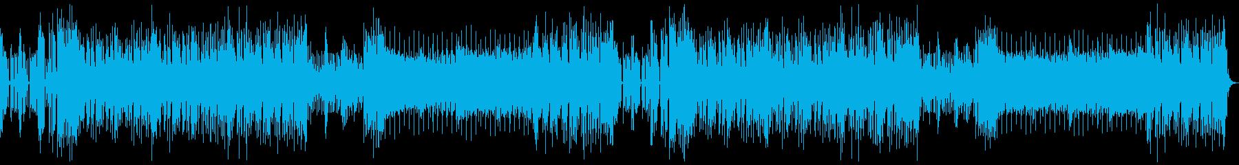 クールでスムーズなニュース風BGMの再生済みの波形