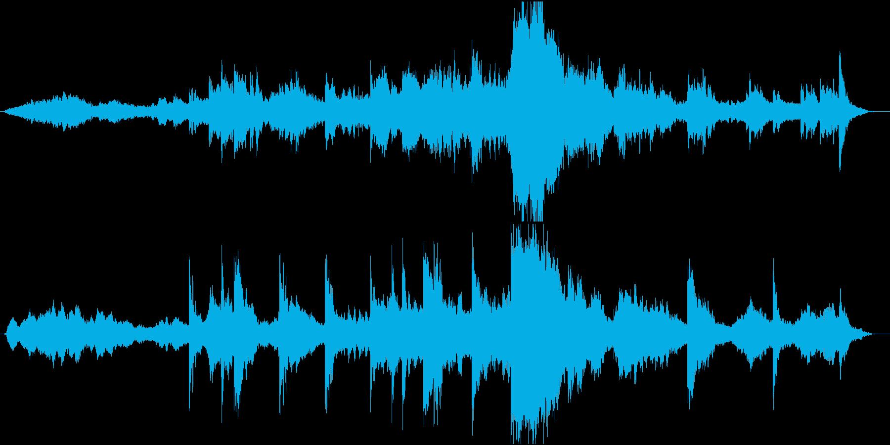 マーラーの再生済みの波形