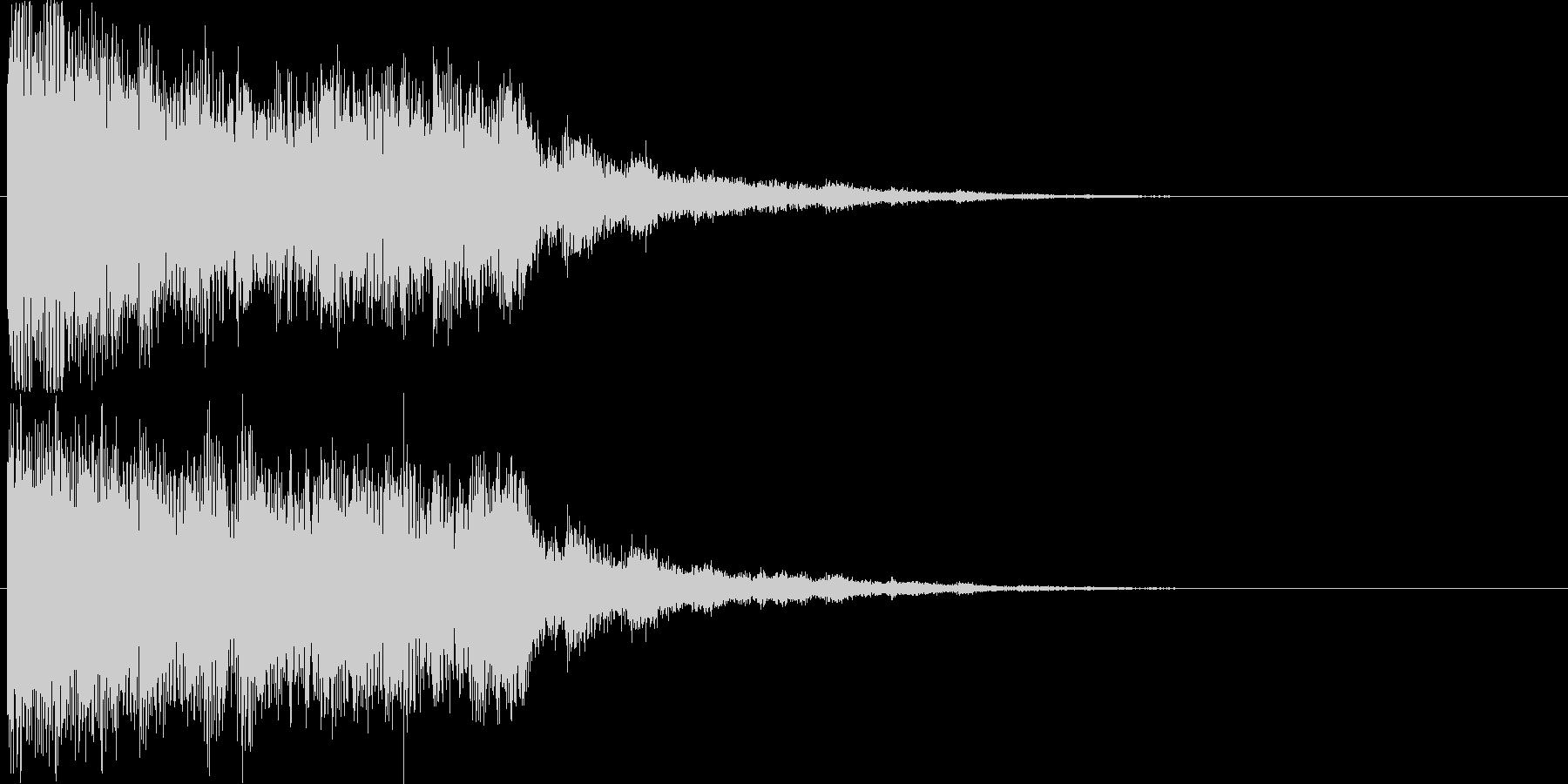 【場面転換】インパクト系効果音【魔法】の未再生の波形