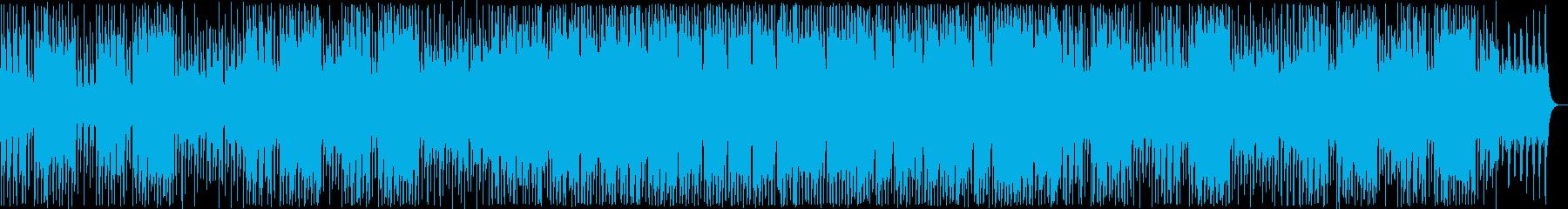 明るい管楽器シンセ系ポップの再生済みの波形