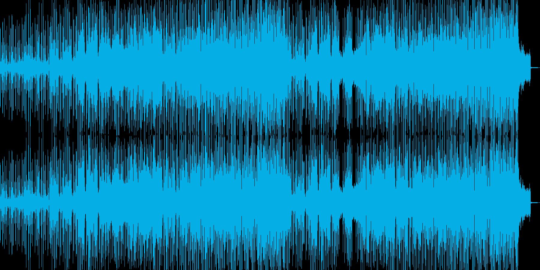 未知で不穏な何かが動き出すイメージの再生済みの波形