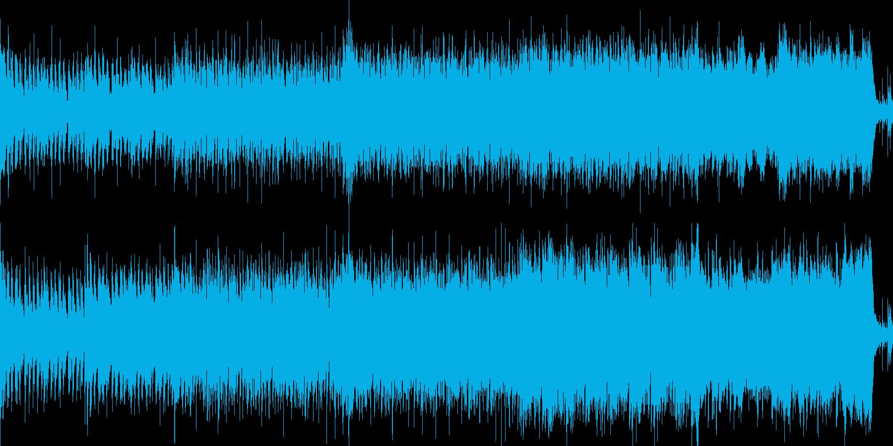 RPGゲーム向けBGM【街】ループ可の再生済みの波形