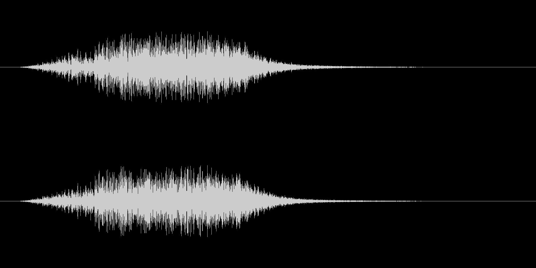 【ショートブリッジ16-2】の未再生の波形