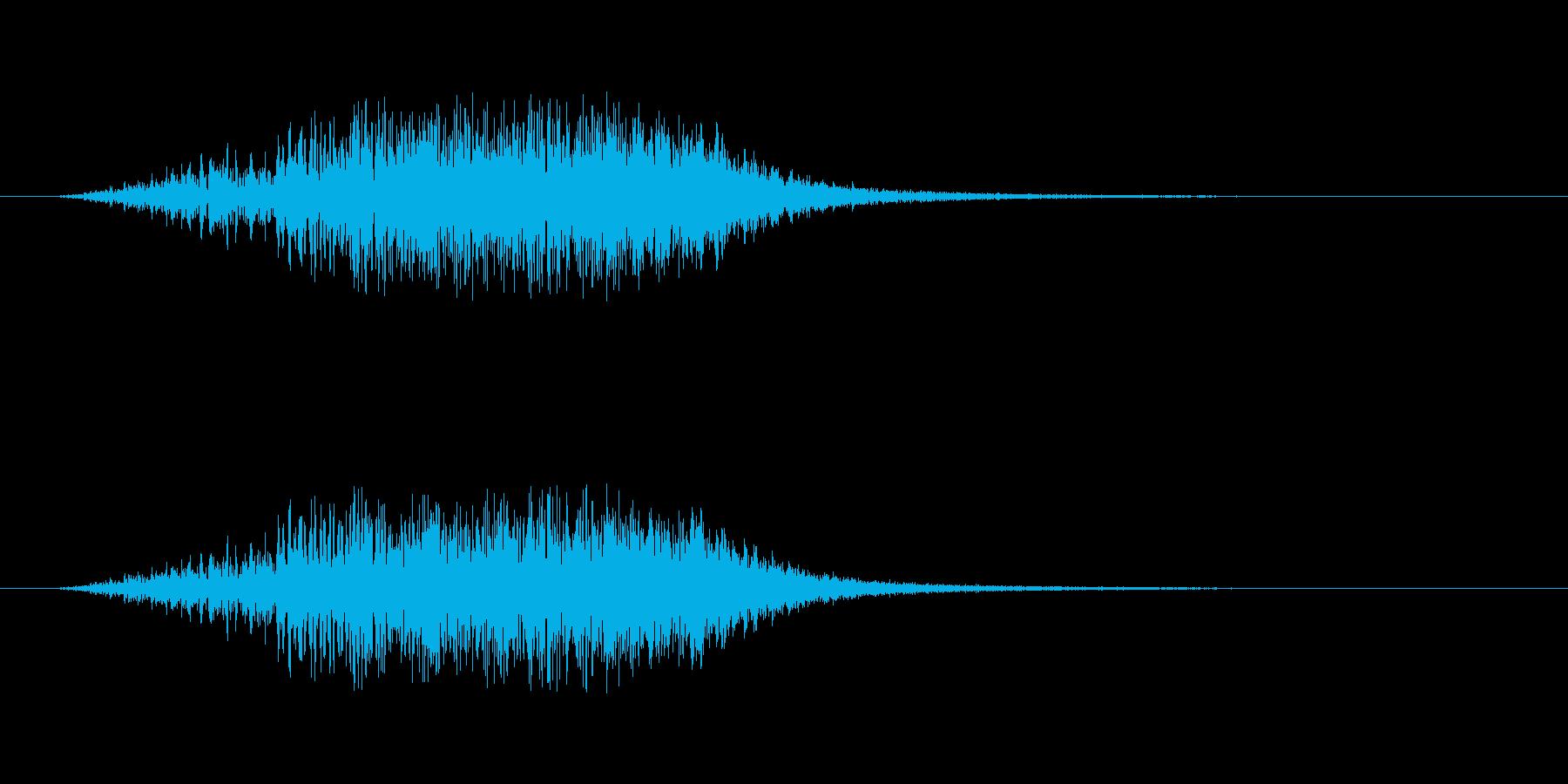 【ショートブリッジ16-2】の再生済みの波形