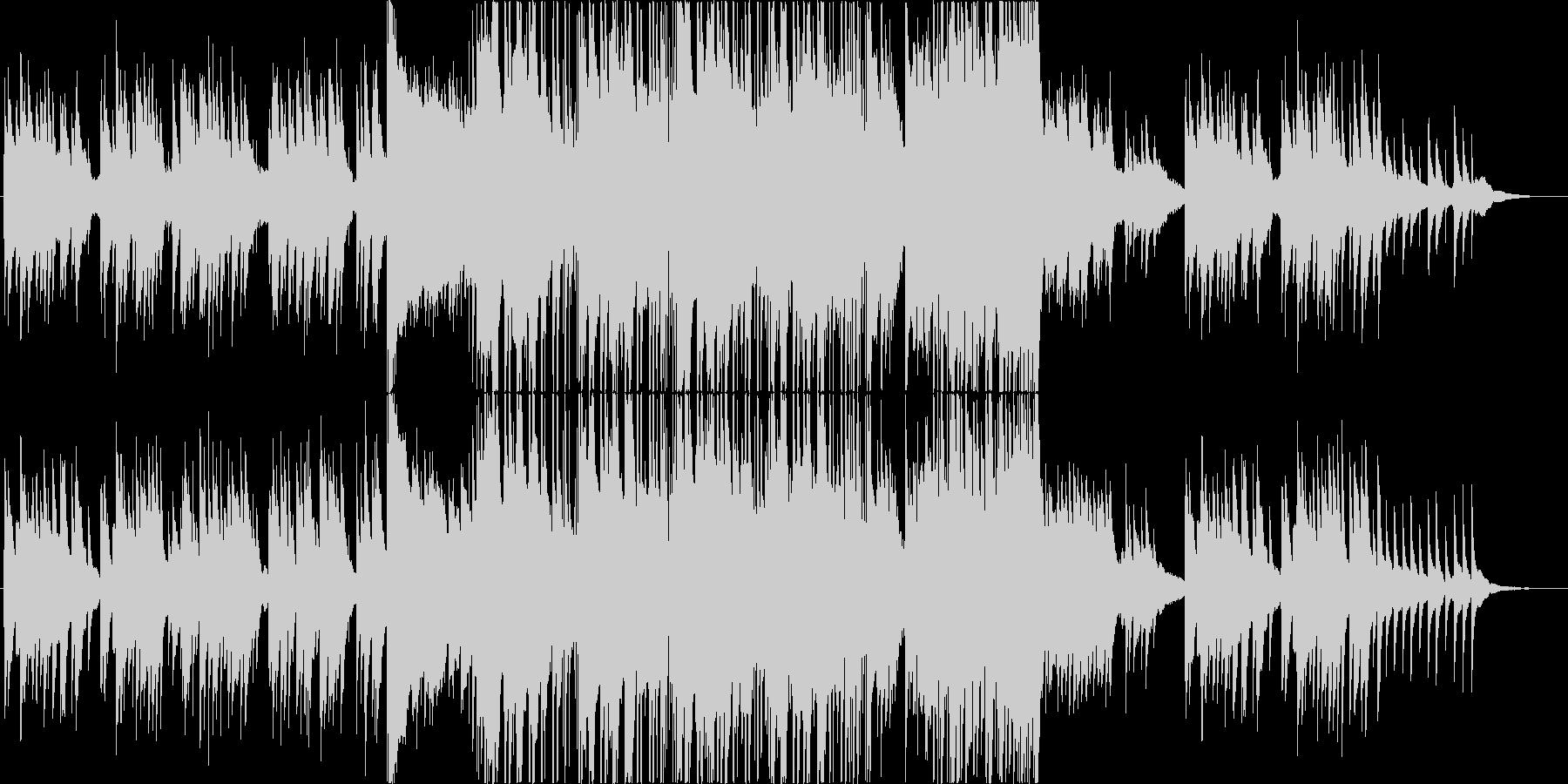 切なげな三拍子バラードの未再生の波形