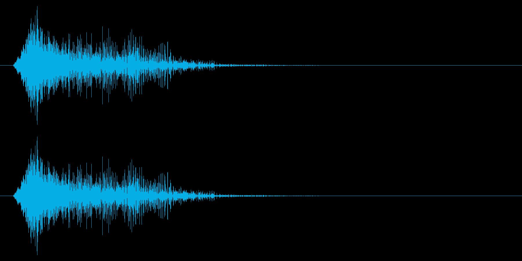 遭遇/エンカウント/バトルの再生済みの波形