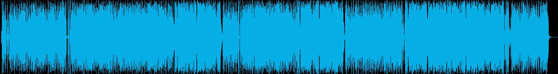 熱帯夜をイメージしたソウルナンバーの再生済みの波形