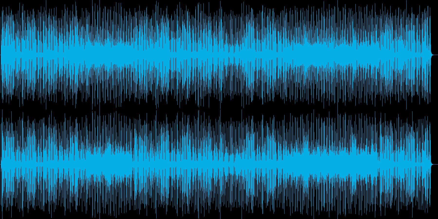 エンターテイメント感満溢れるポップな曲の再生済みの波形