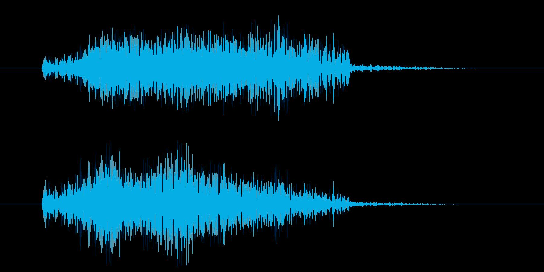 オルガン 【グリッサンド音】 ギャーンの再生済みの波形