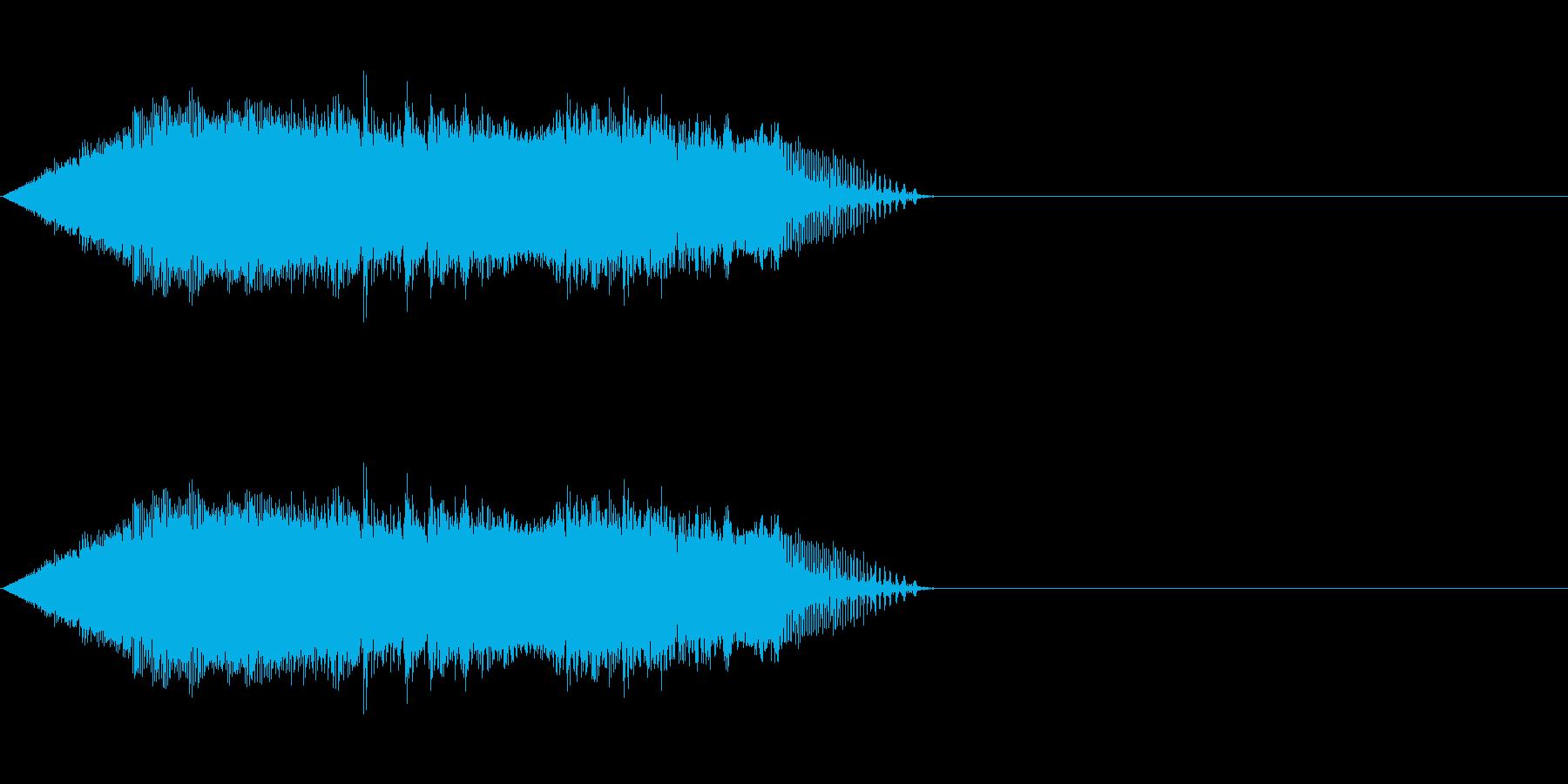 シャットダウン 2の再生済みの波形