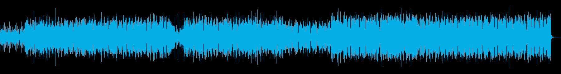 明るく疾走間のあるケルト調BGMです。の再生済みの波形