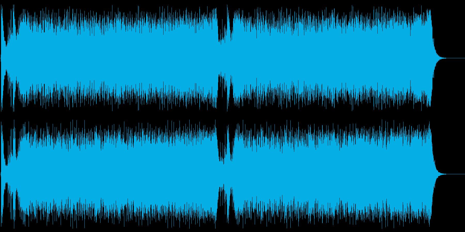 緊迫感を演出するシンフォニックロック3の再生済みの波形
