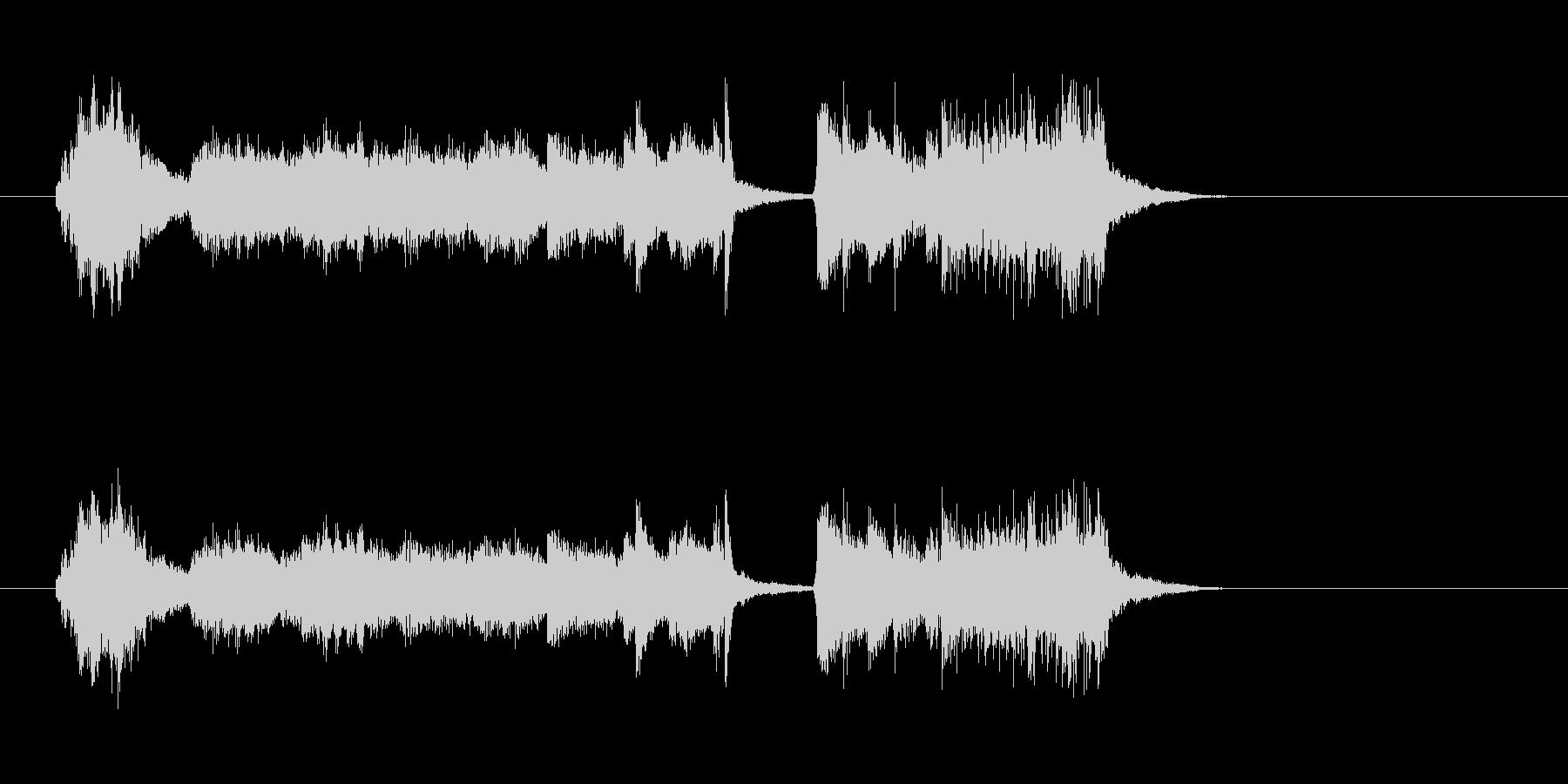 ハープ 美しい ピアノ バイオリンの未再生の波形