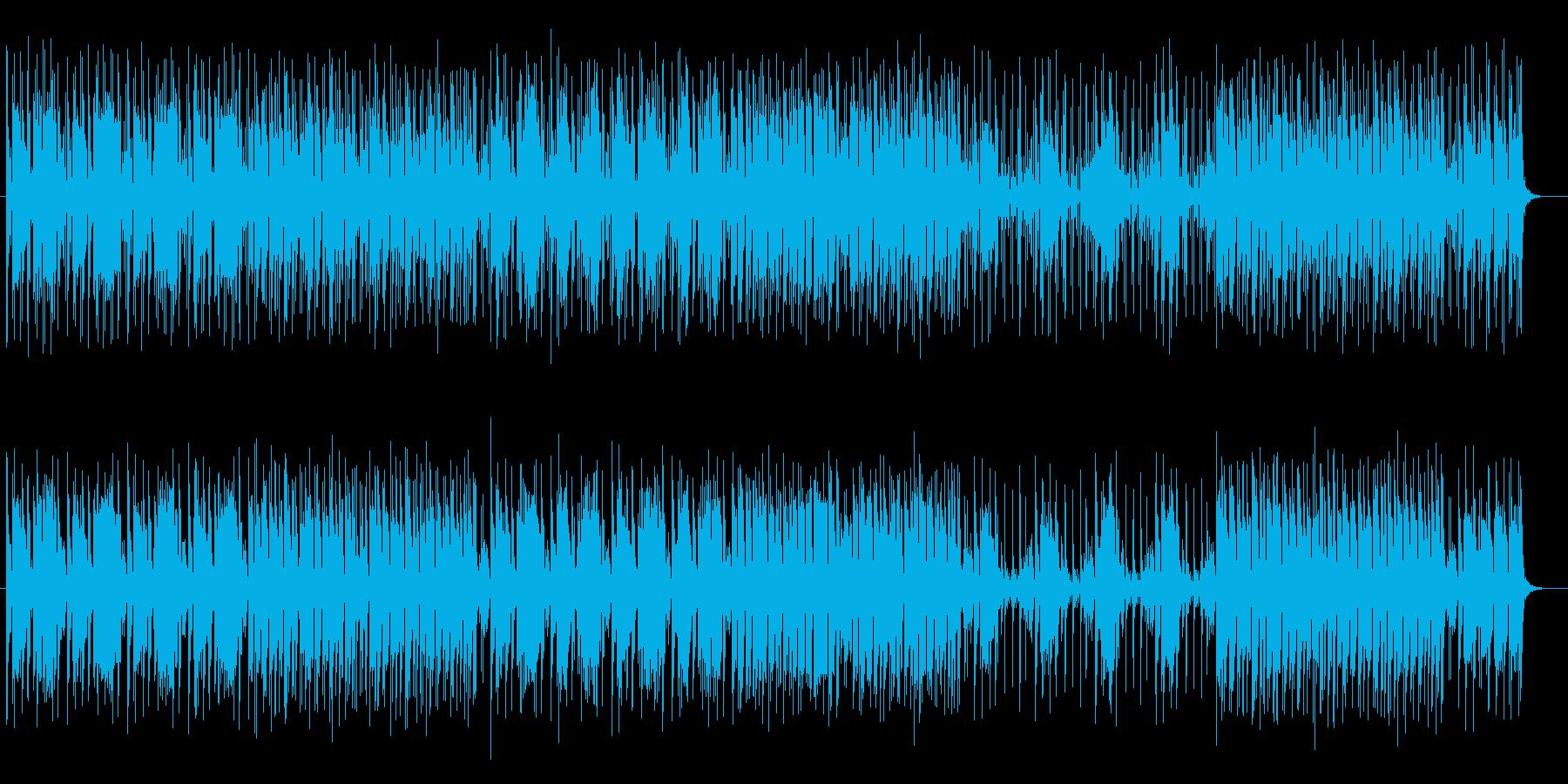 コミカルで愉快なポップサウンドの再生済みの波形