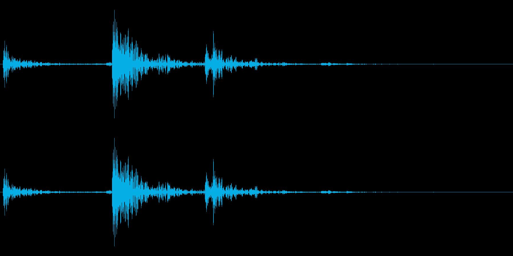電話切る2の再生済みの波形