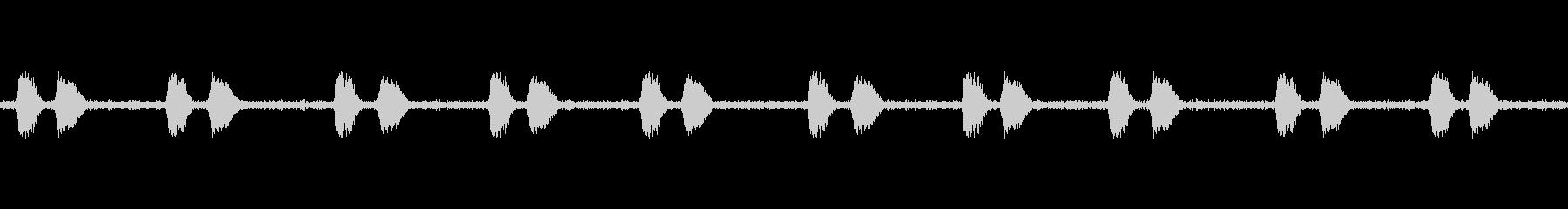 【カラス 生録 環境01-3】の未再生の波形
