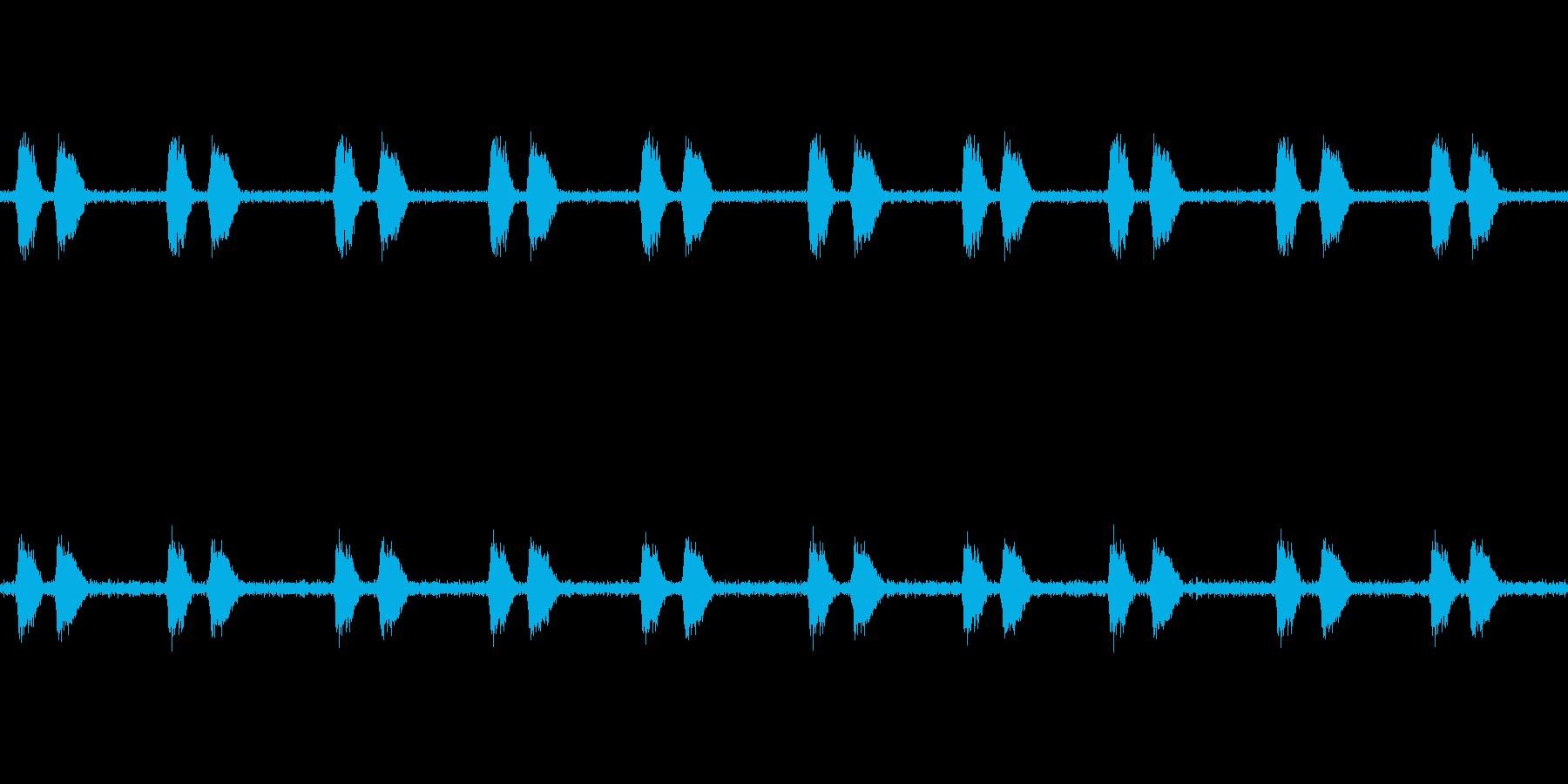 【カラス 生録 環境01-3】の再生済みの波形