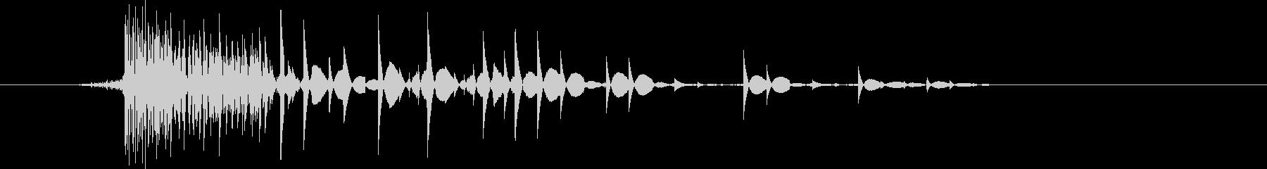 ゲーム(ファミコン風)爆発音_042の未再生の波形