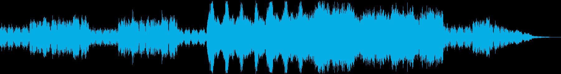 ワクワクしてくるBGMの再生済みの波形