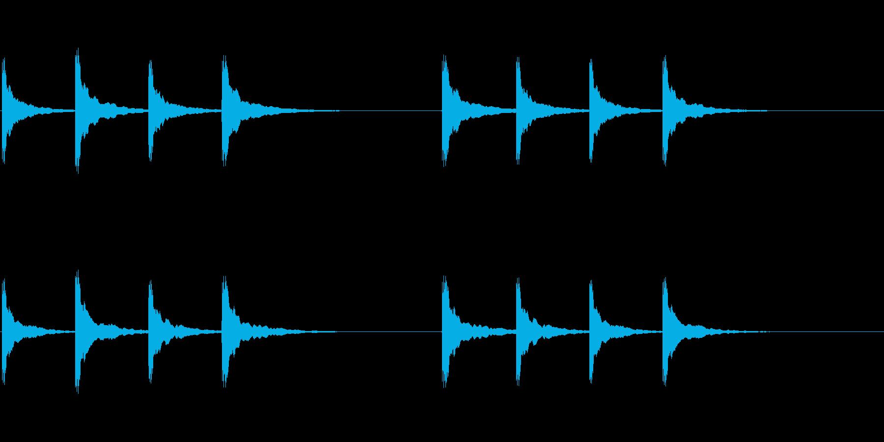 ピンポンパンポン (3)の再生済みの波形