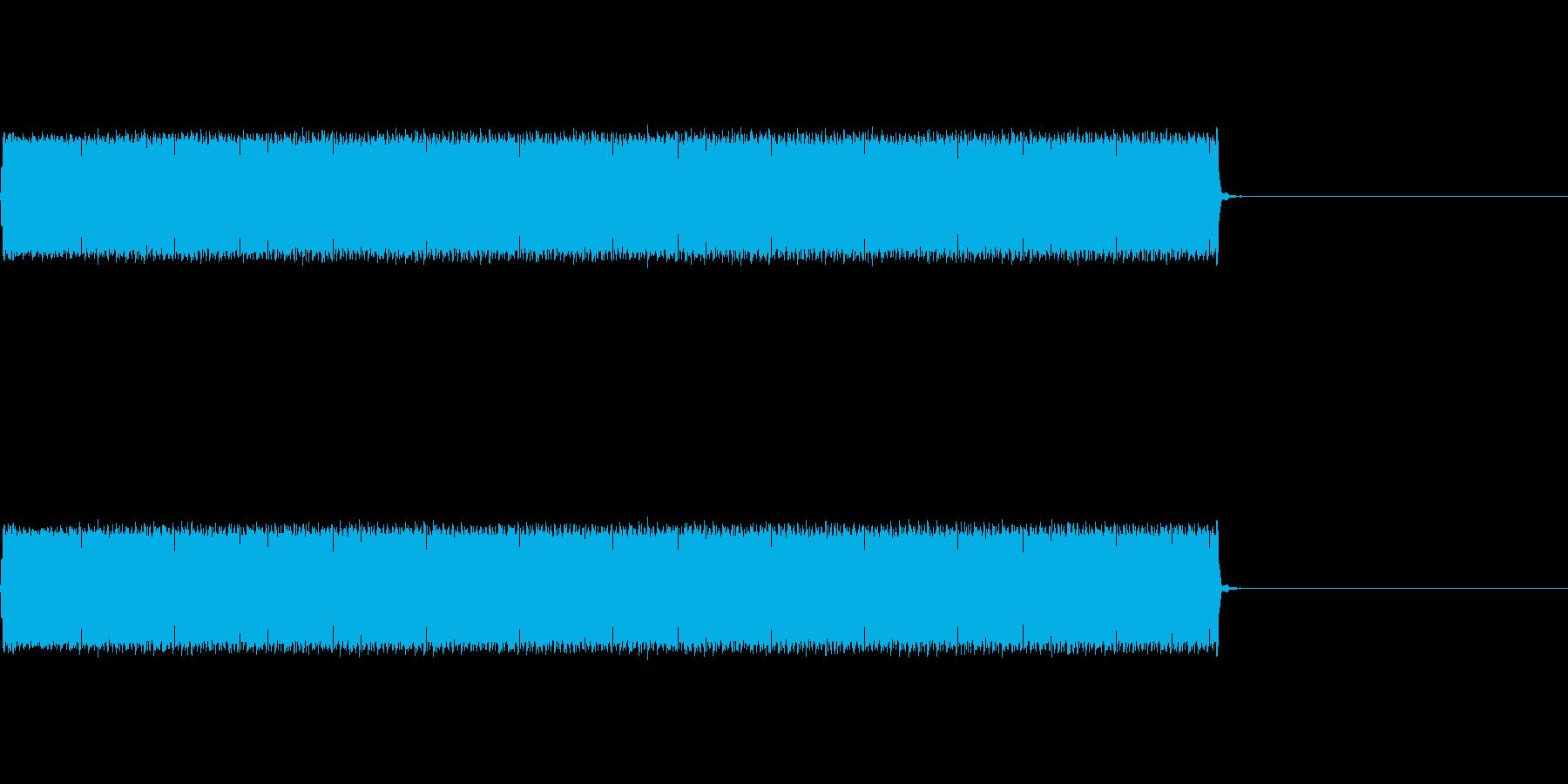 【不正解01-4】の再生済みの波形