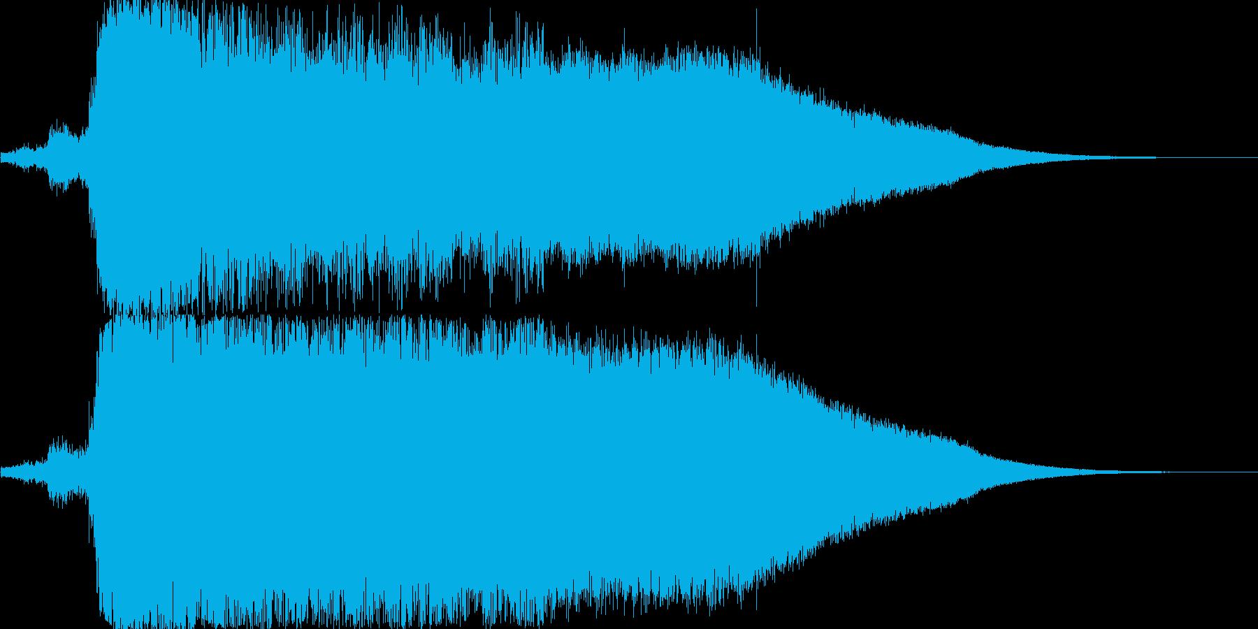 165_サッカーのゴール歓声 ワァー2の再生済みの波形