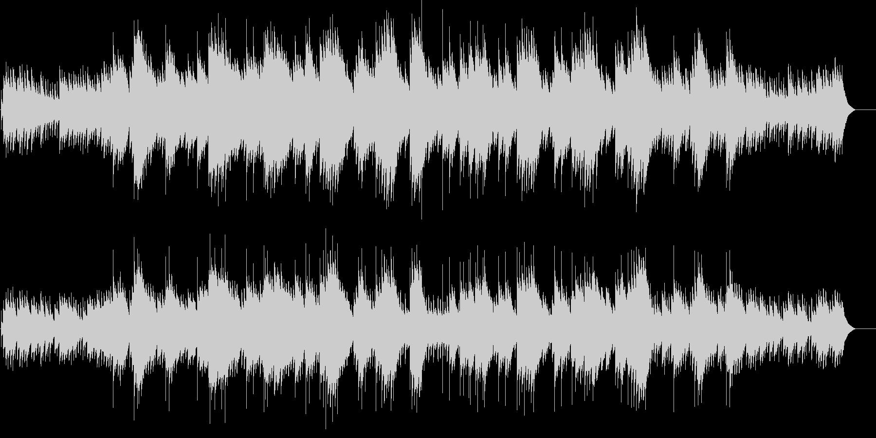 シューベルトのアヴェマリア(オルゴール)の未再生の波形