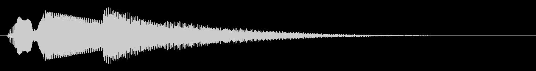 【落下音2】ひゅ〜(コミカル)の未再生の波形
