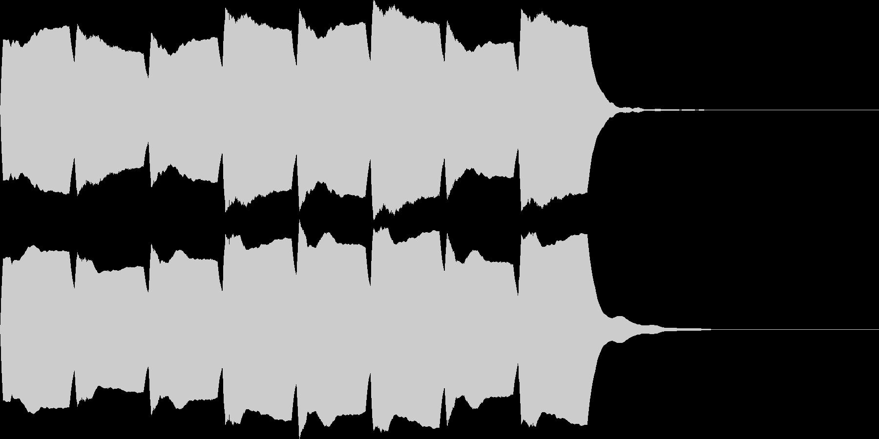 救急車のサイレンA(短)の未再生の波形