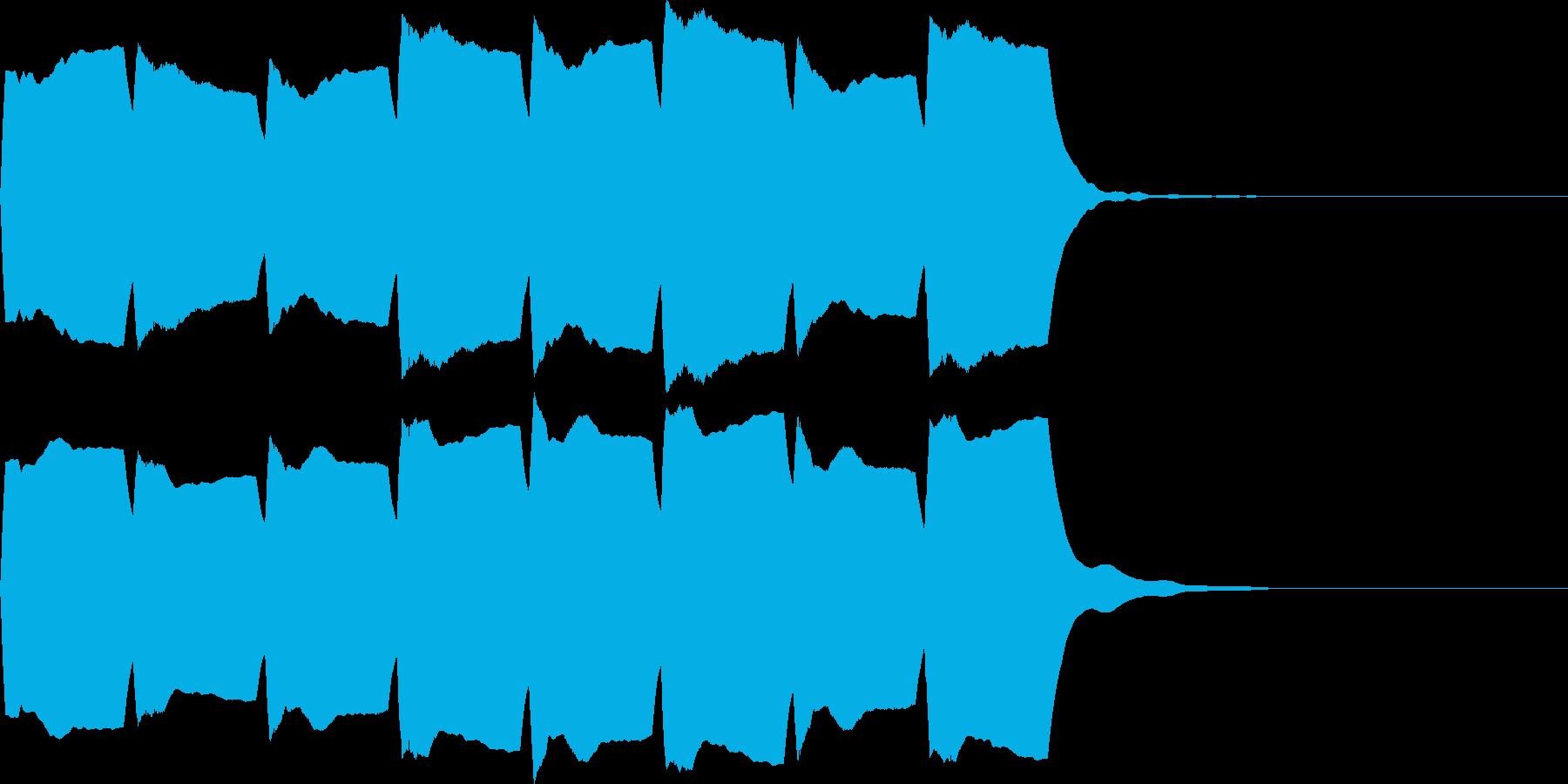 救急車のサイレンA(短)の再生済みの波形