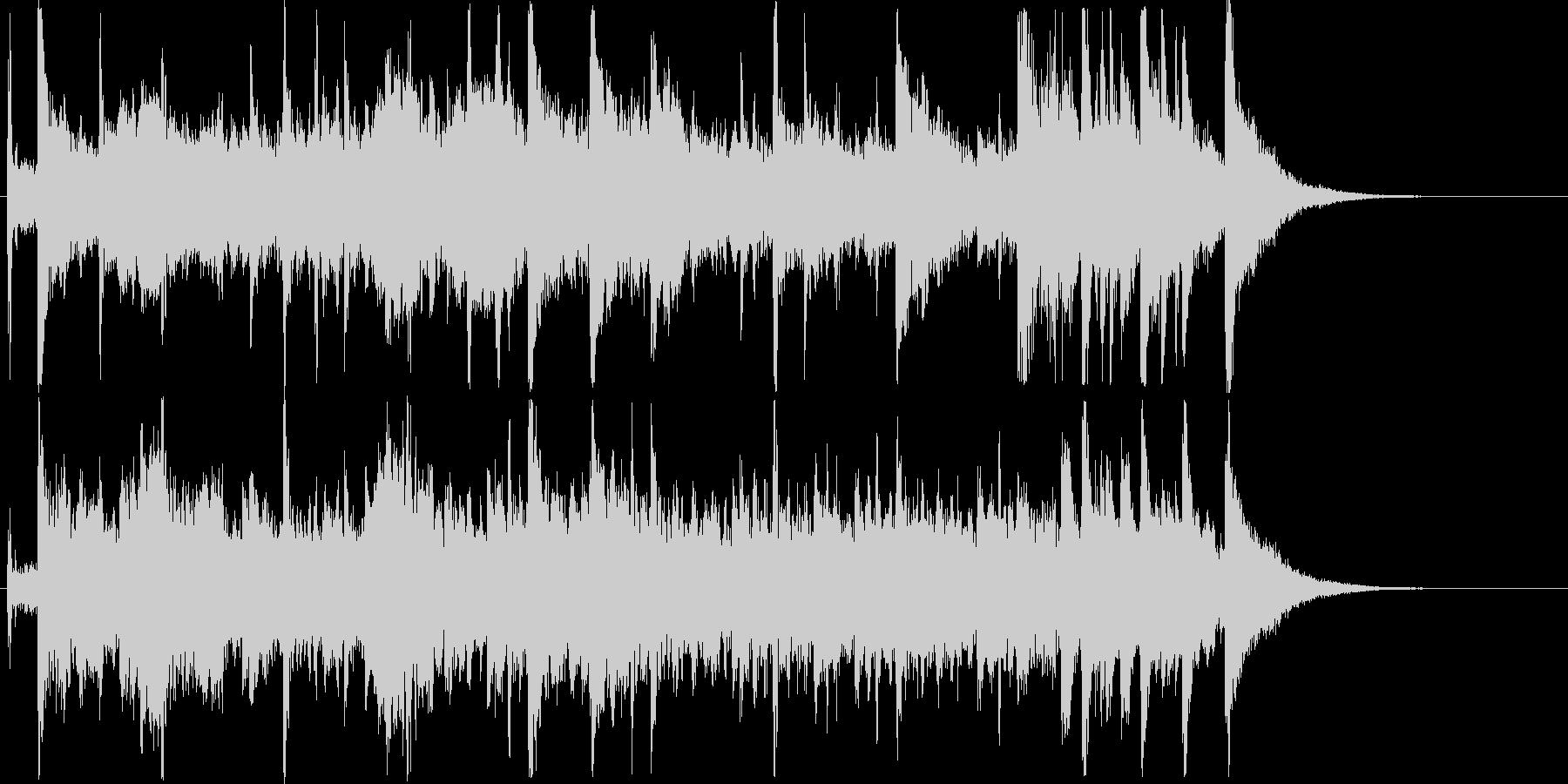 アジアンテイスト_ジングルの未再生の波形