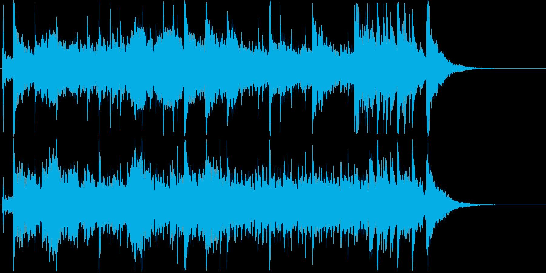 アジアンテイスト_ジングルの再生済みの波形