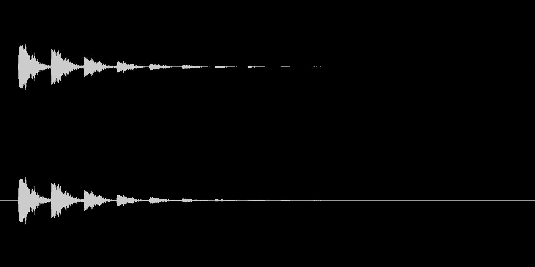 【ポンッ02-4】の未再生の波形