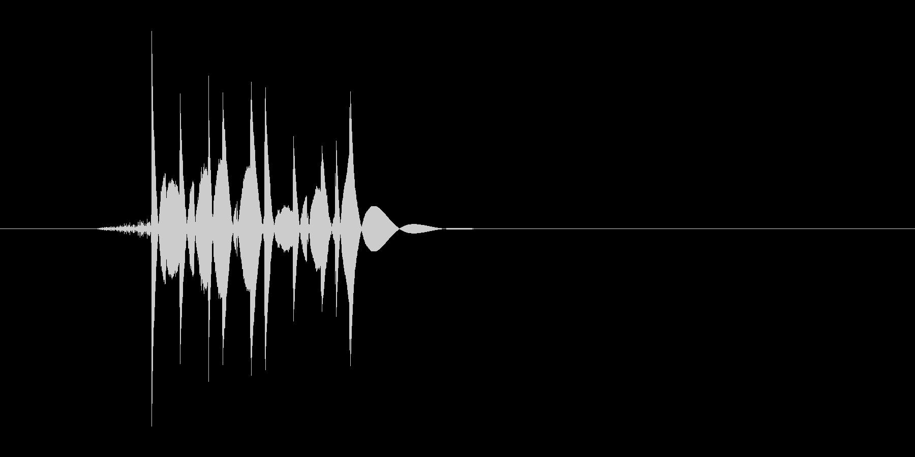 ゲーム(ファミコン風)爆発音_025の未再生の波形