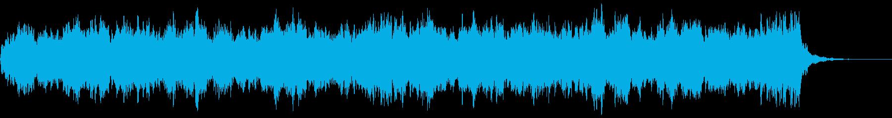 グリーンスリーブス ストリングスの再生済みの波形