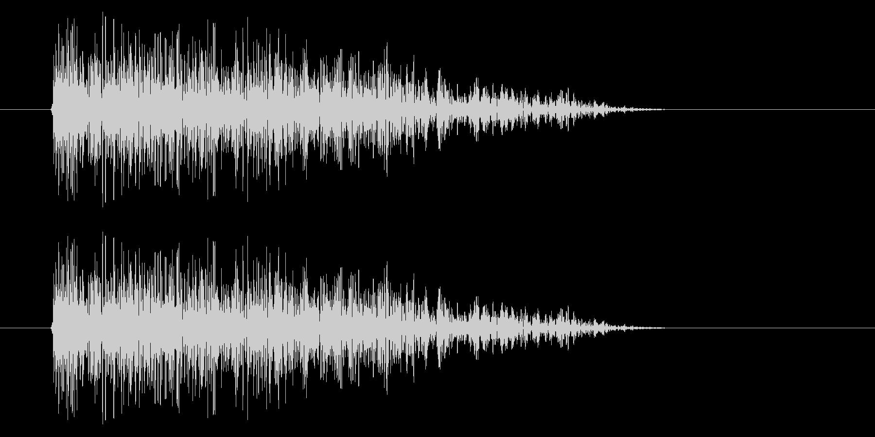 SNES シューティング02-12(ダメの未再生の波形