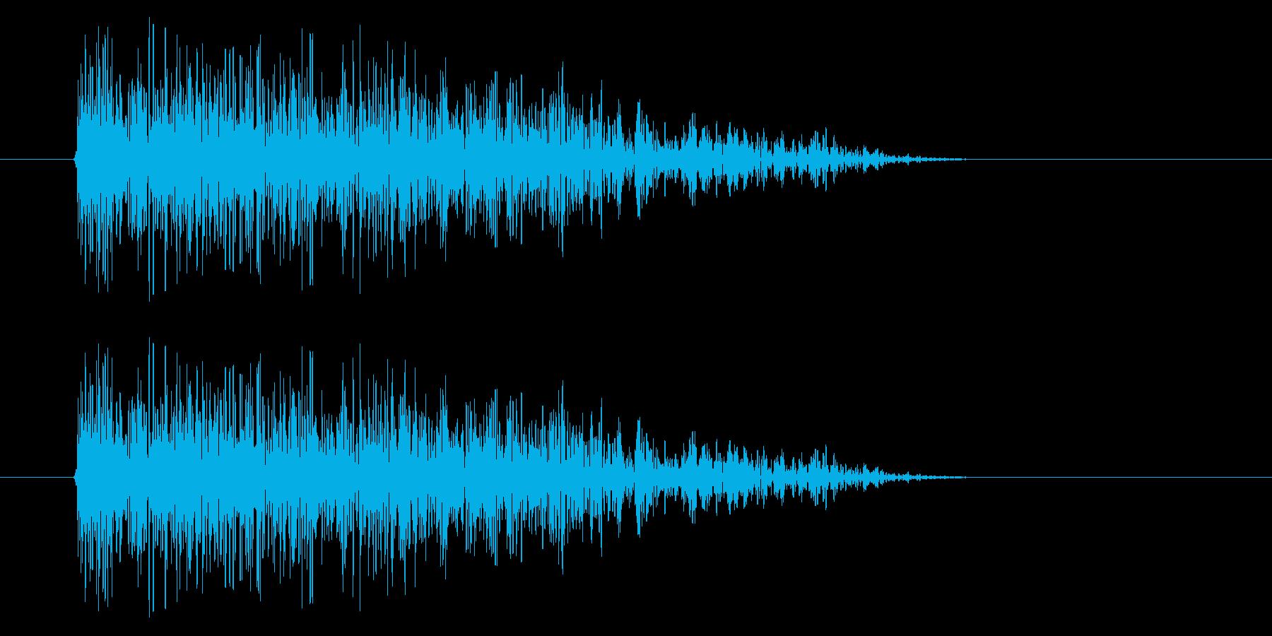 SNES シューティング02-12(ダメの再生済みの波形