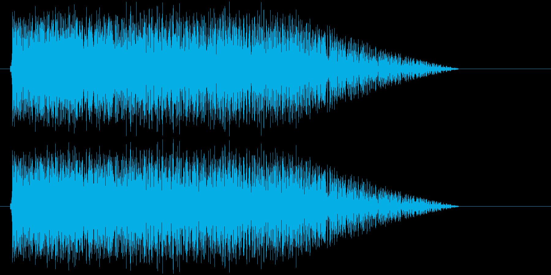 地割れ_地鳴りの再生済みの波形