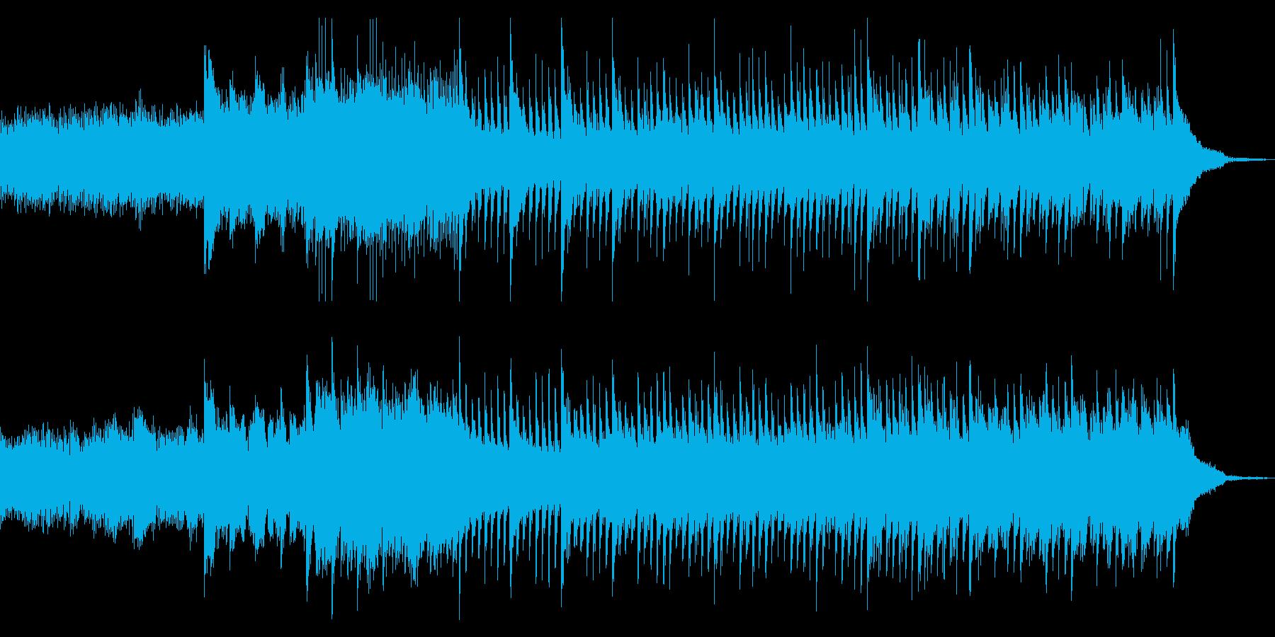 穏やかに、着実に変化していく情景の音楽の再生済みの波形